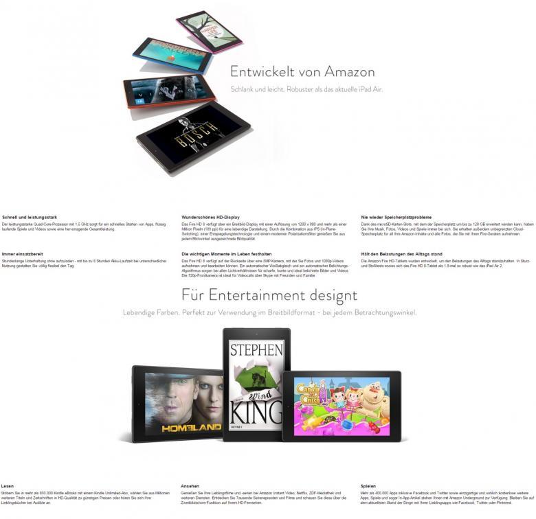 Produktbeschreibung Kindle