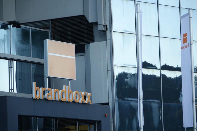 Veranstaltungsort Brandboxx Außenaufnahme