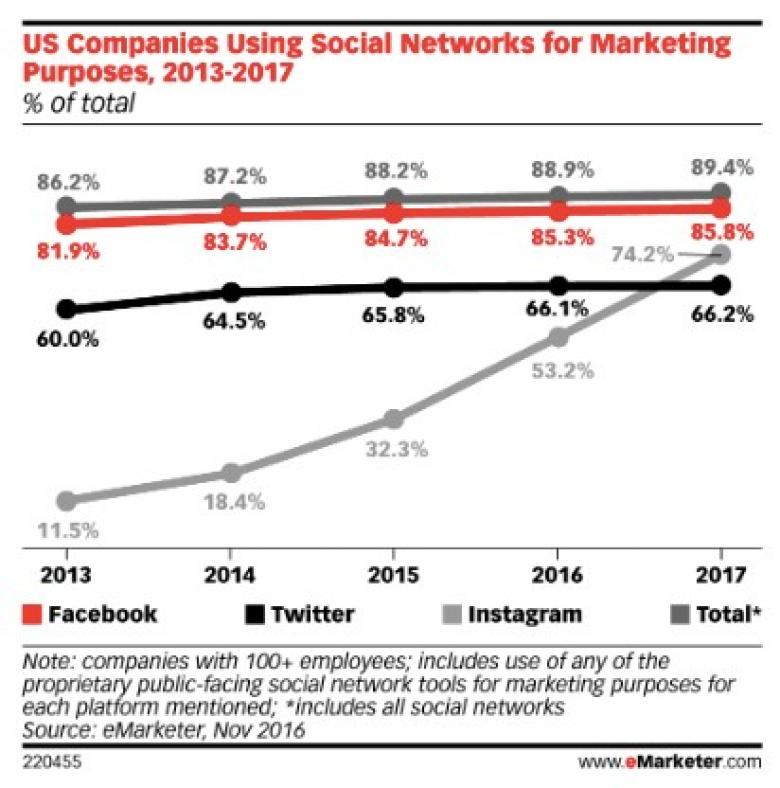 Social Networks for Marketing Purposes