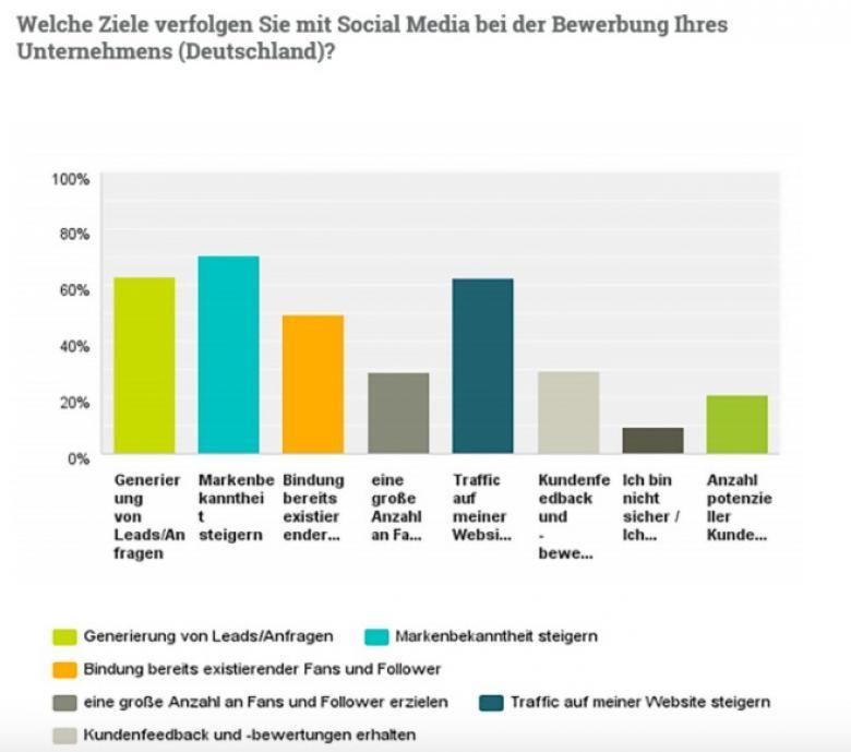 Ziele der Social Media-Nutzung