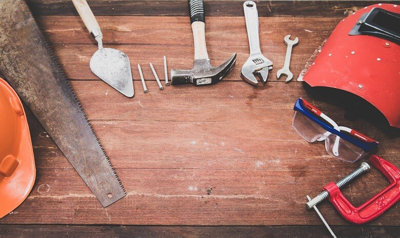 Bild einer Ansammlung von Werkzeugen