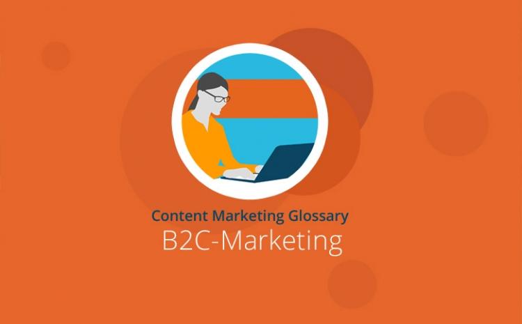 Grafik mit Headline B2C-Marketing