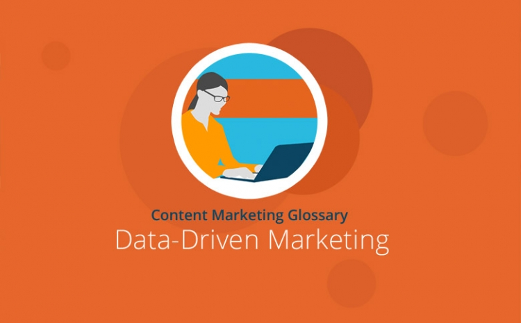 Grafik mit Headline Data-Driven Marketing