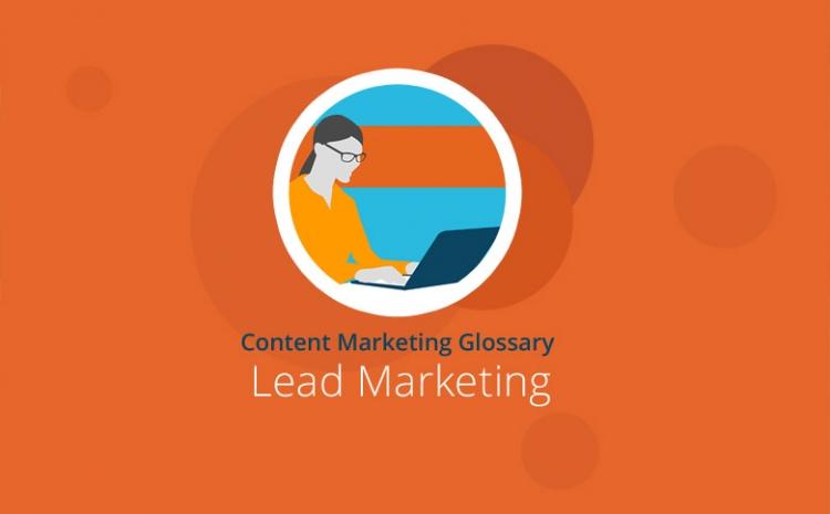 Grafik mit Headline Lead-Marketing