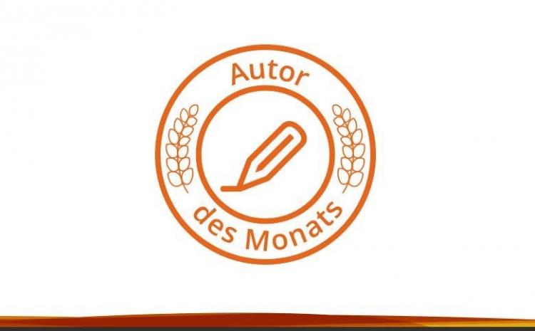 Autor-des-Monats-Siegel