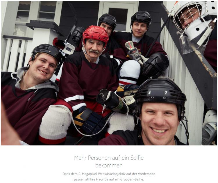 Menschen in Eishockey-Outfit