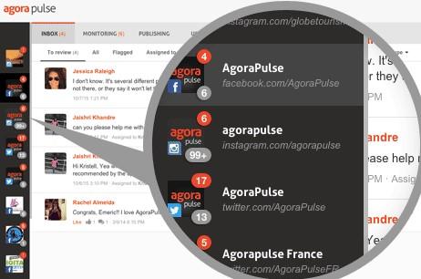 AgoraPulse Screenshot