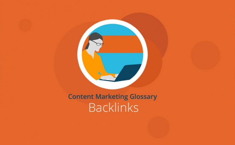 Grafik mit Headline Backlinks