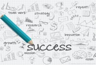 Stift schreibt success