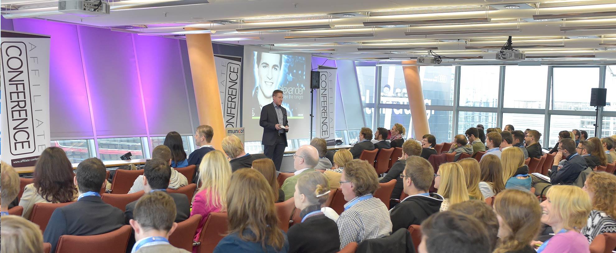 Vortrag auf der Affiliate Conference