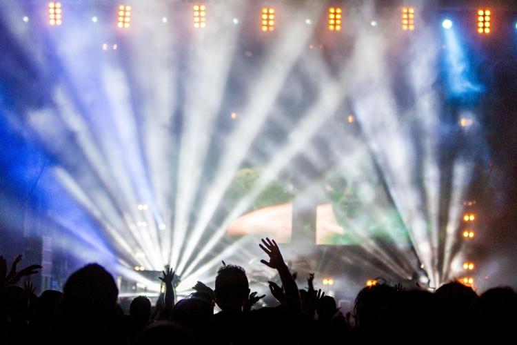 Konzert mit Light Show