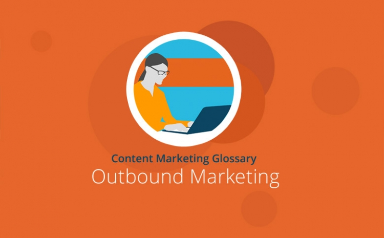 Grafik mit Headline Outbound Marketing
