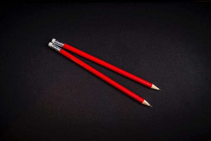rote Bleistifte