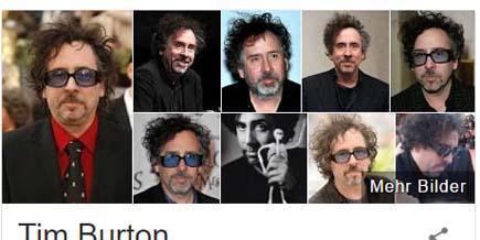 Universal Search-Ergebnis zu Tim Burton
