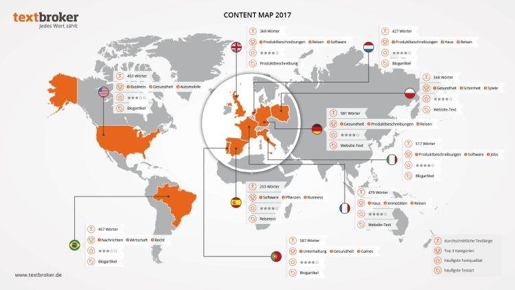 Landkarte TB Content Map