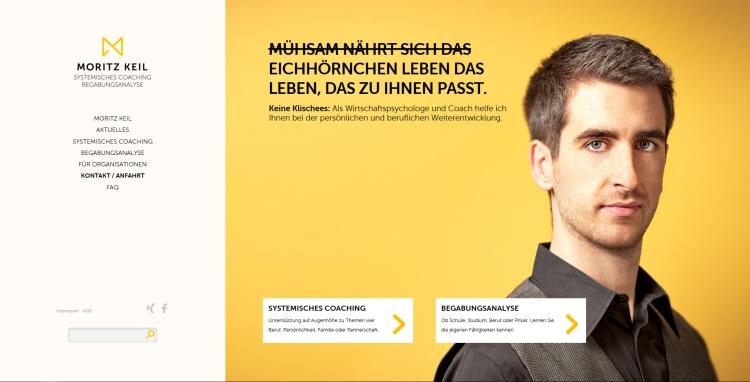 Screenshot Moritz Keil