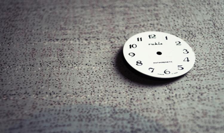Uhr ohne Zeiger