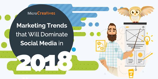 Infografik Social Media Trends 2018