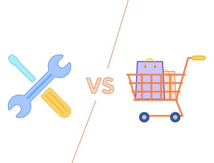 Nischenseite selbst erstellen vs. kaufen