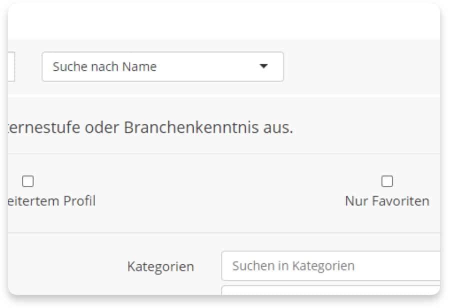 Textbroker Autorensuche - Namen