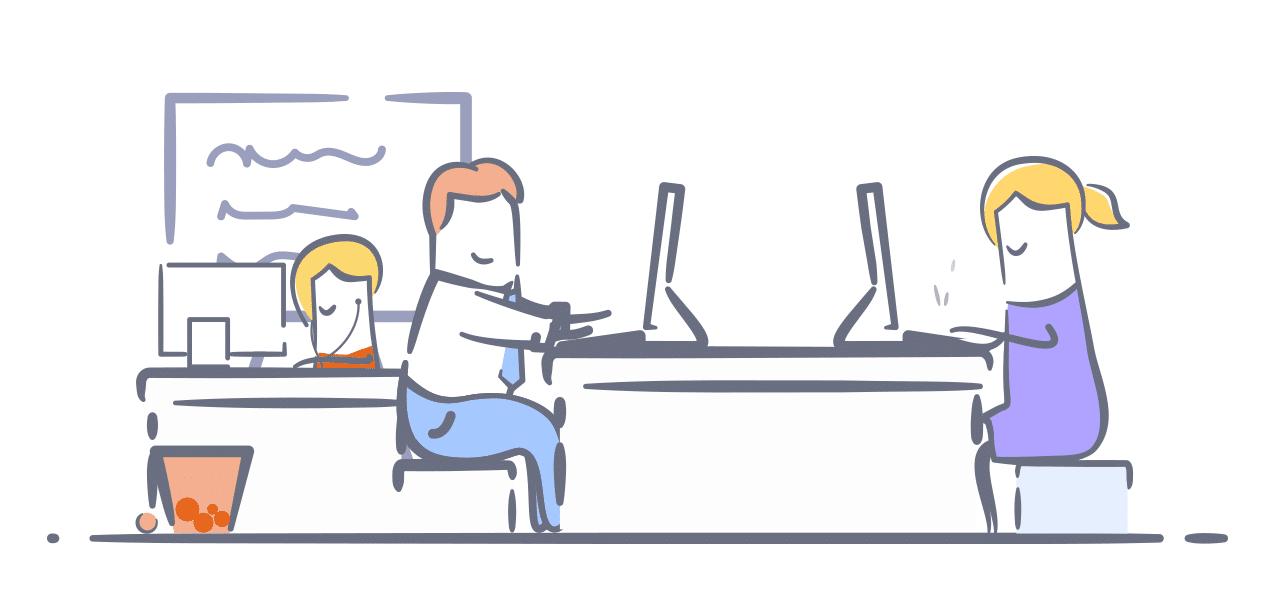 Arbeit mit Freelancern